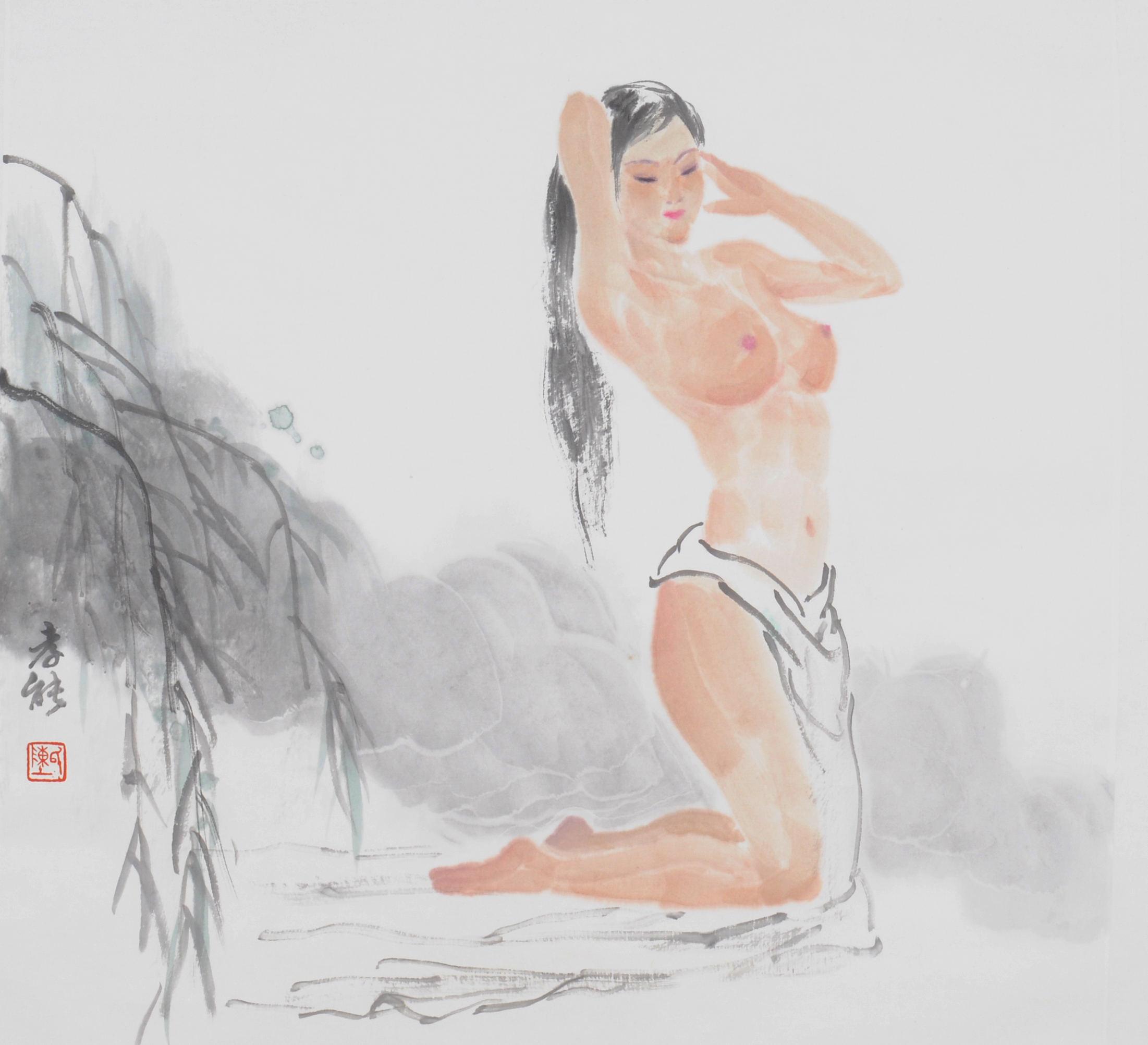 陈孝能 1948年出生于广东海丰。1968年毕业于广州美术学院附中。现为广东省美术家协会会员,广州画院特聘研究员、名誉画师。 2013年10月应纽约中美文化交流协会邀请,携《思乡曲一一音乐家马思聪》等肖像作品在美展出。《思乡曲》捐赠广州艺术博物院,陈列于马思聪纪念馆。由北京工艺美术出版社等出版有《中国当代名画家艺术研究?陈孝能写意人物画艺术》《中国当代美术家书系?陈孝能颂佛作品》《陈孝能人物画选》《故里俊杰一一陈孝能人物画作品集》等。 。